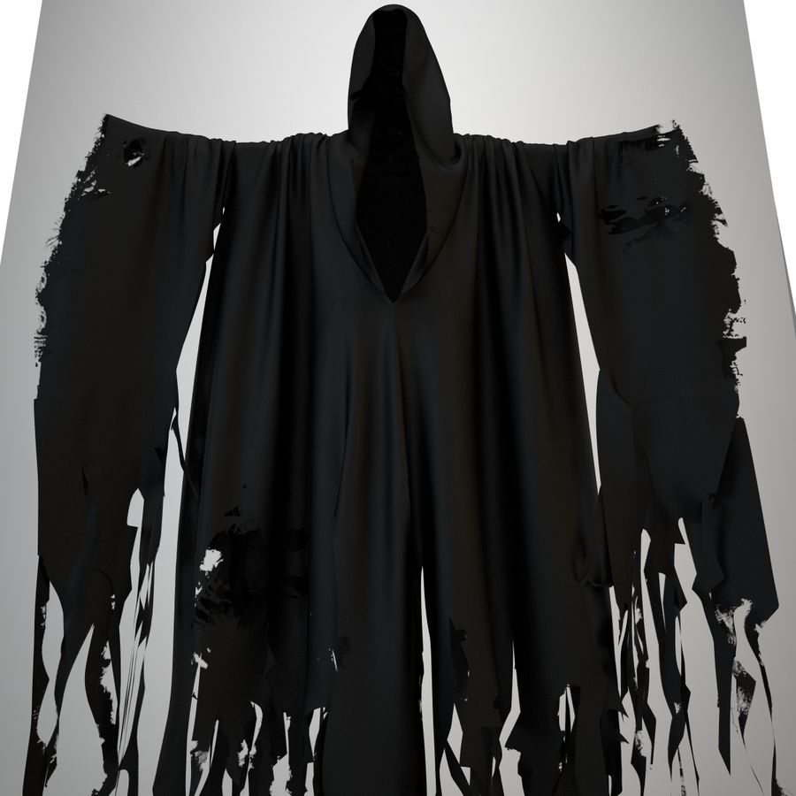 Cape fantôme royalty-free 3d model - Preview no. 5