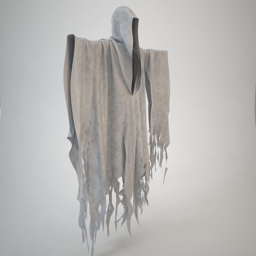 Cape fantôme royalty-free 3d model - Preview no. 15