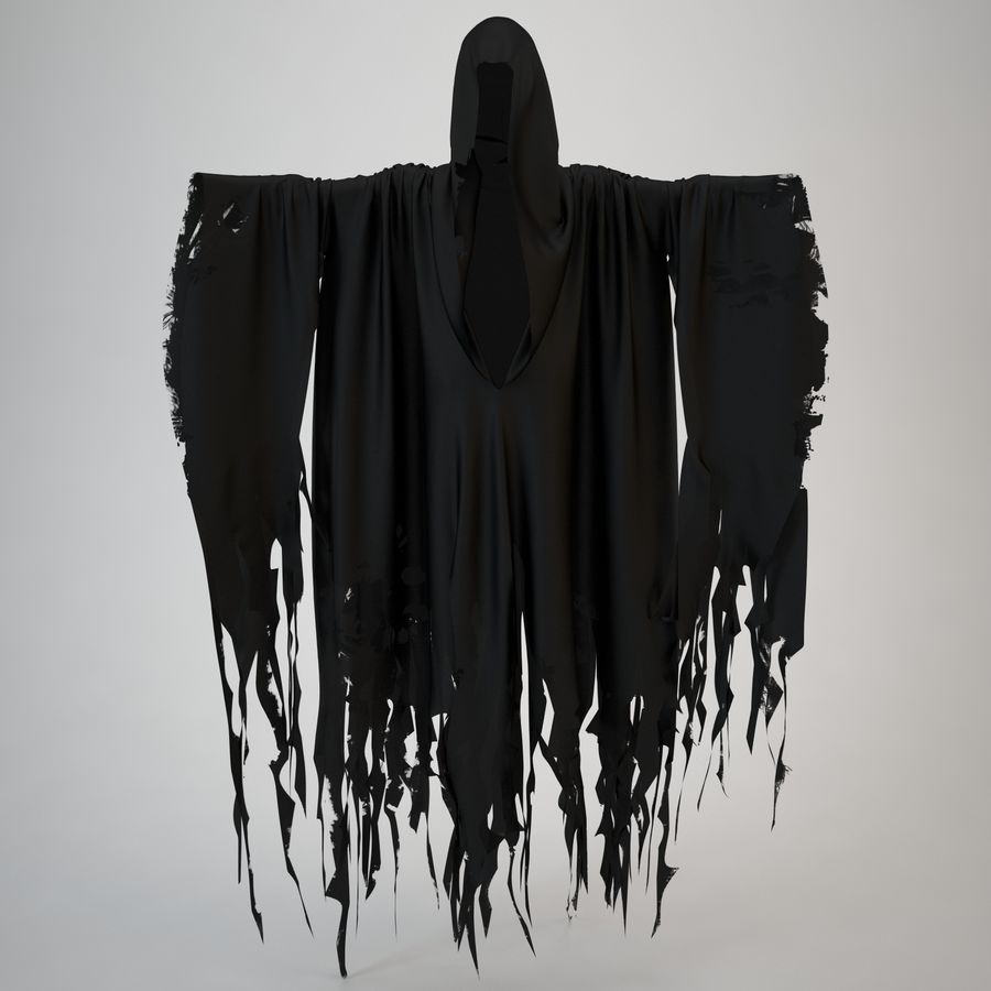 Cape fantôme royalty-free 3d model - Preview no. 3