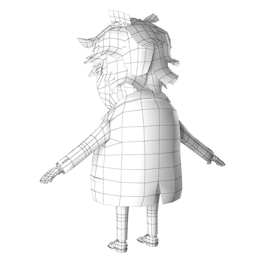보리스 존슨 만화 풍자 만화 royalty-free 3d model - Preview no. 13