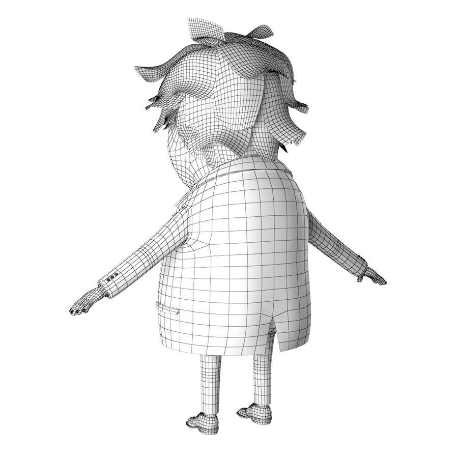 보리스 존슨 만화 풍자 만화 royalty-free 3d model - Preview no. 14
