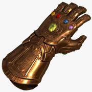 Infinity Gauntlet Marvel Univers 3d model