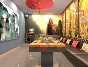 Kinesisk restaurang 3d model