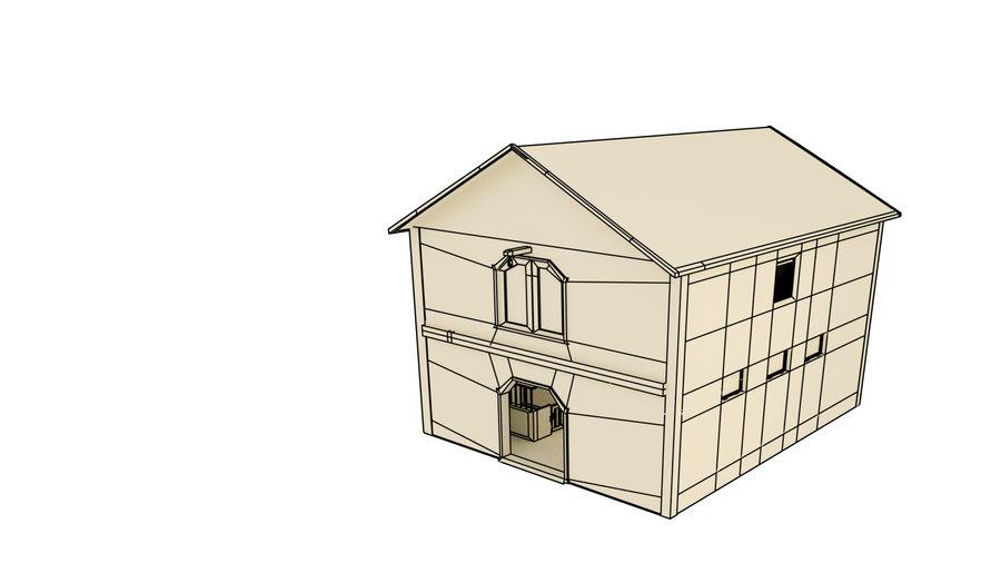 외양간 royalty-free 3d model - Preview no. 13