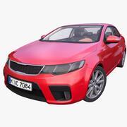 Автомобиль Дженерик Купе 3d model