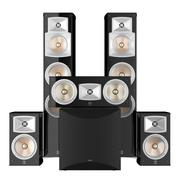 Speakers Yamaha 3d model