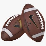 Piłka do futbolu amerykańskiego Nike Vapor One 3d model