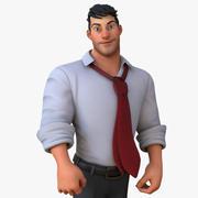 Corporate Man 3d model