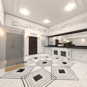 Badezimmer Modern 3d model