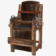 Torture Iron Chair 3d model