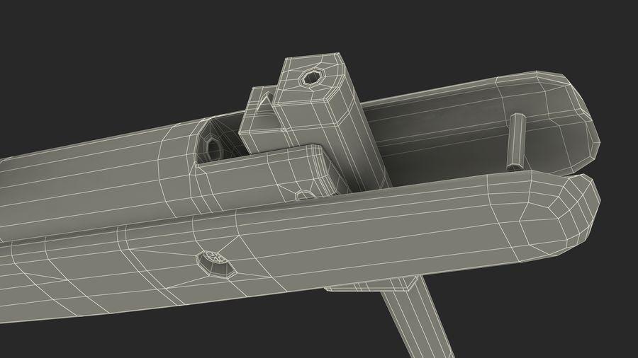 Kapsamlı Kamuflaj Kırma Namlu Havalı Tüfek royalty-free 3d model - Preview no. 19