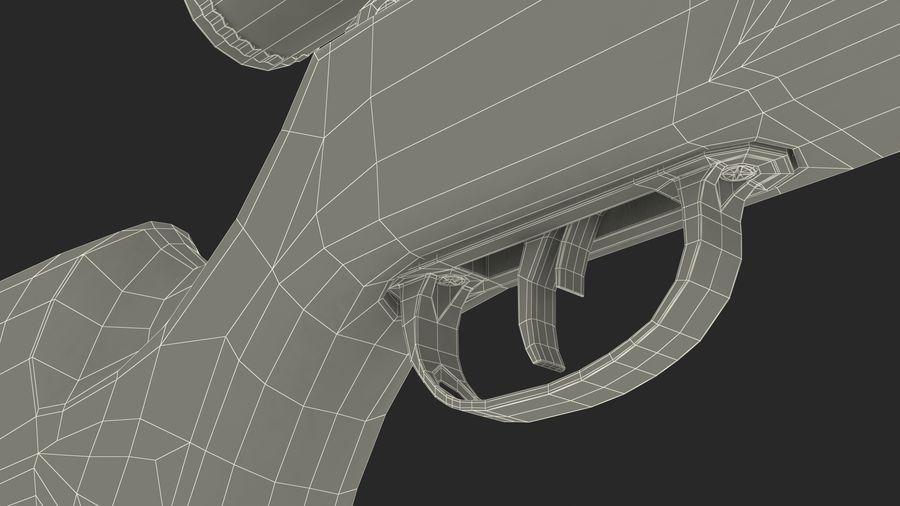 Kapsamlı Kamuflaj Kırma Namlu Havalı Tüfek royalty-free 3d model - Preview no. 20