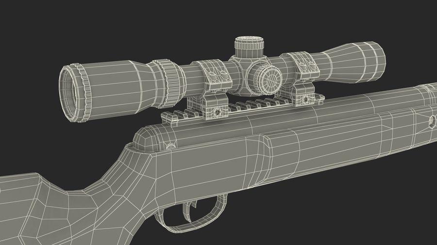Kapsamlı Kamuflaj Kırma Namlu Havalı Tüfek royalty-free 3d model - Preview no. 18