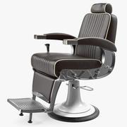 复古理发椅 3d model