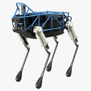 Spot Classic Robot Boston Dynamics 3d model