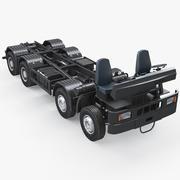 트럭 섀시 8x4 3d model