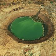 Lonar Crater 3d model