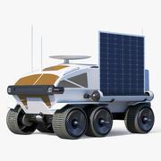Moon Rover Concept 3d model