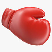 Перчатка для бокса Rigged for Cinema 4D 3d model