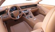 Interior Lexus Car 2 3d model