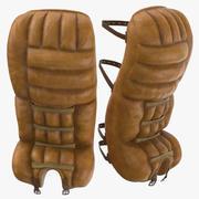 Ice Hockey Goalie Pads 3d model