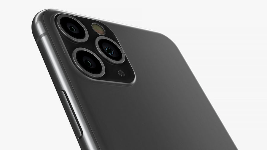 iPhone 11 Pro e iPhone 11 Pro Max e iPhone 11 royalty-free 3d model - Preview no. 15