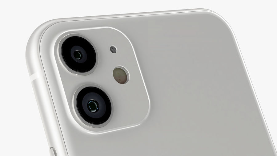 iPhone 11 Pro e iPhone 11 Pro Max e iPhone 11 royalty-free 3d model - Preview no. 54