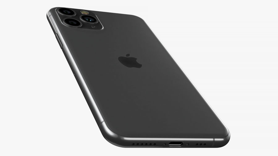 iPhone 11 Pro e iPhone 11 Pro Max e iPhone 11 royalty-free 3d model - Preview no. 14