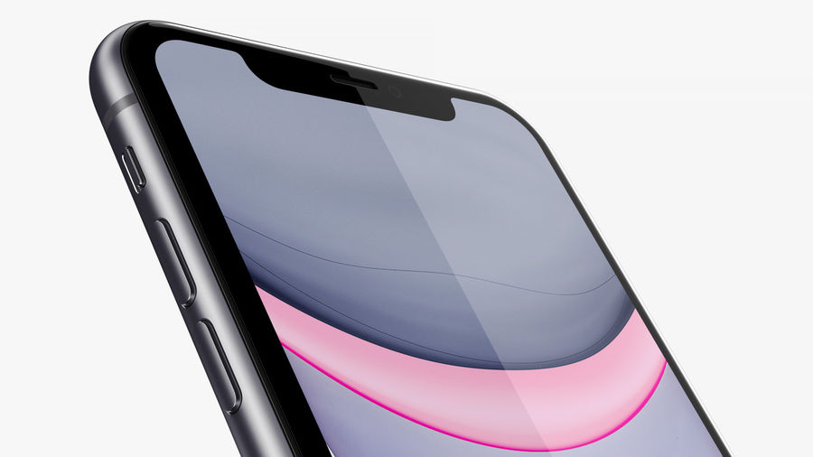 iPhone 11 Pro e iPhone 11 Pro Max e iPhone 11 royalty-free 3d model - Preview no. 53