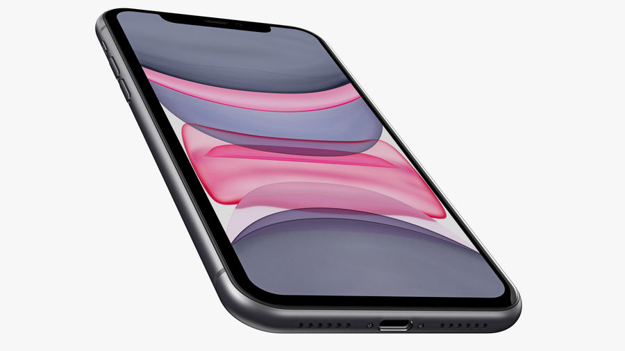 iPhone 11 Pro e iPhone 11 Pro Max e iPhone 11 royalty-free 3d model - Preview no. 47