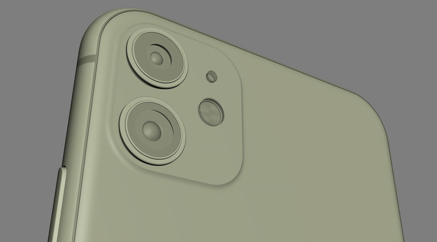 iPhone 11 Pro e iPhone 11 Pro Max e iPhone 11 royalty-free 3d model - Preview no. 62
