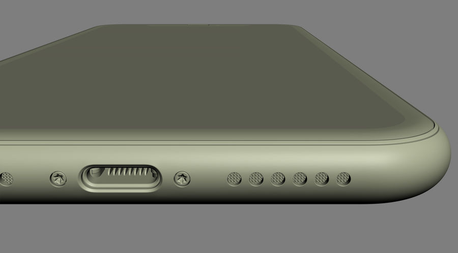 iPhone 11 Pro e iPhone 11 Pro Max e iPhone 11 royalty-free 3d model - Preview no. 64