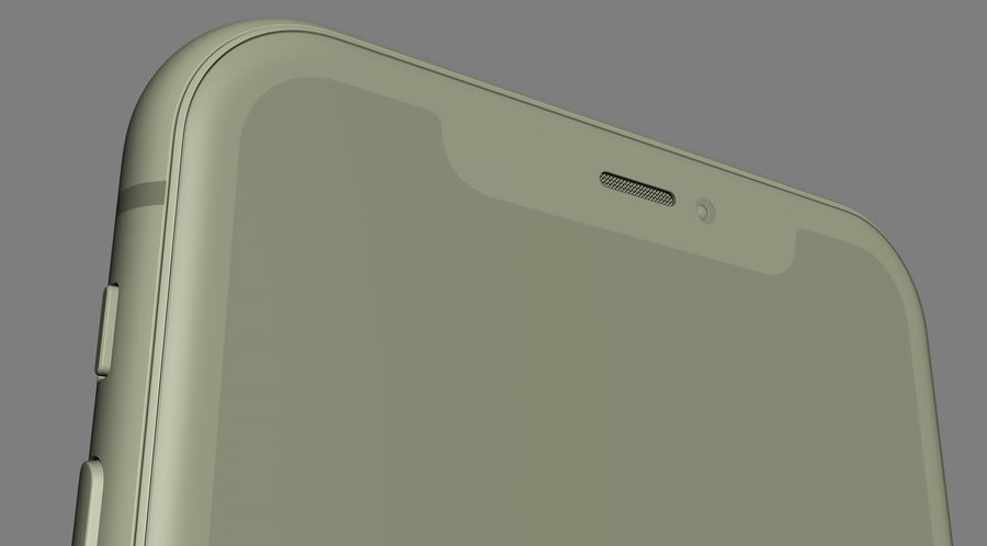 iPhone 11 Pro e iPhone 11 Pro Max e iPhone 11 royalty-free 3d model - Preview no. 66