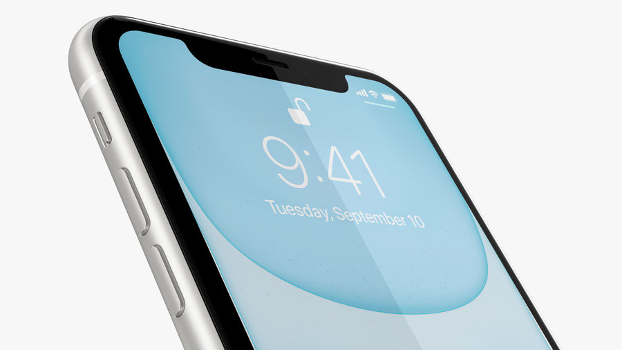 iPhone 11 Pro e iPhone 11 Pro Max e iPhone 11 royalty-free 3d model - Preview no. 52
