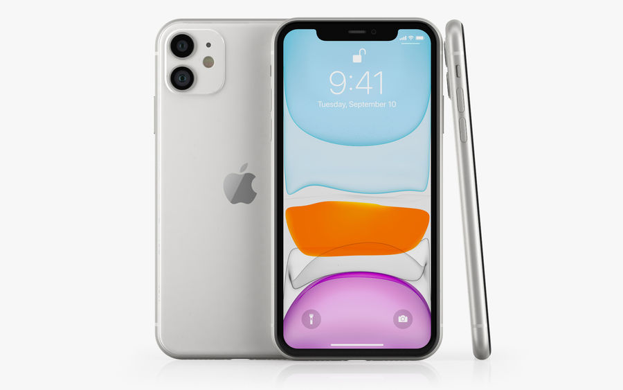 iPhone 11 Pro e iPhone 11 Pro Max e iPhone 11 royalty-free 3d model - Preview no. 5