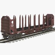 测井车红 3d model