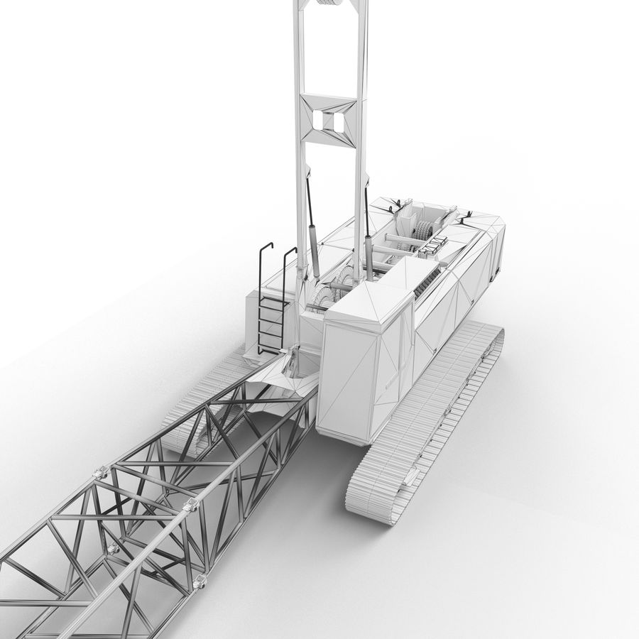 crane royalty-free 3d model - Preview no. 5