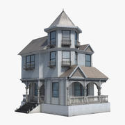 Casa vitoriana 3d model