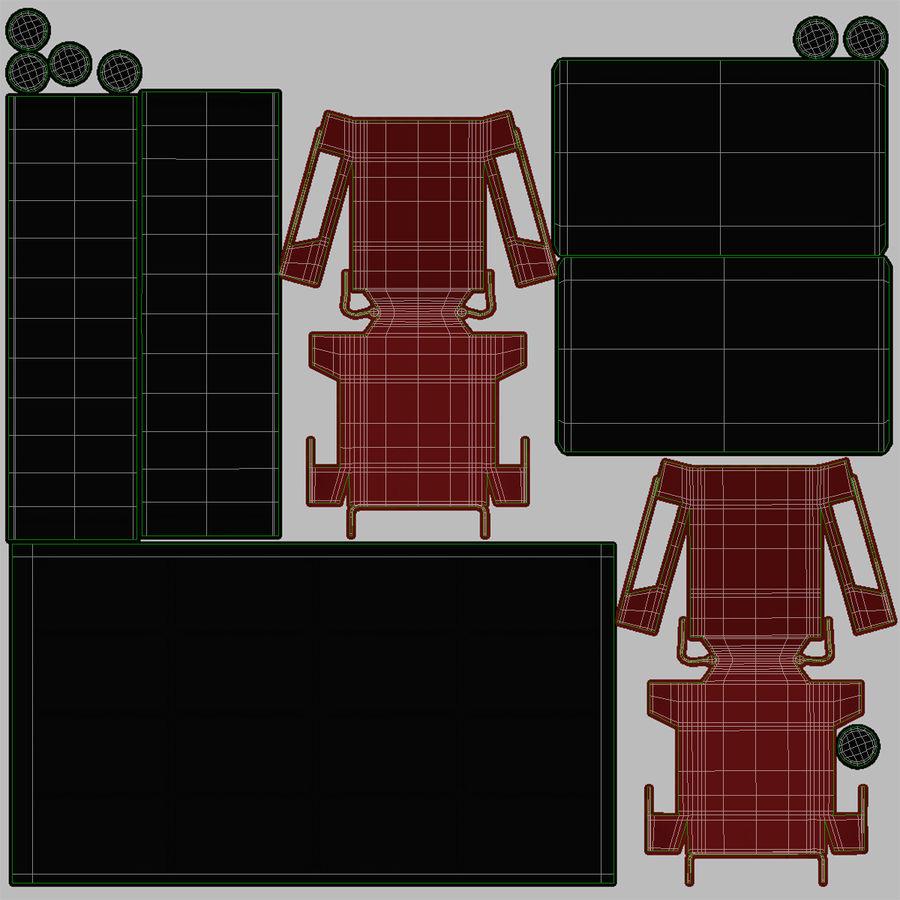 Kontrollpanel för rymdskepp royalty-free 3d model - Preview no. 16