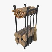 柴堆 3d model
