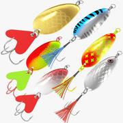 Vissen Lokken Collectie V1 3d model
