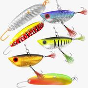 Vissen Lokken Collectie V2 3d model