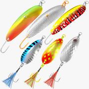 Vissen Lokken Collectie V3 3d model