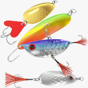 Vissen Lokken Collectie V4 3d model