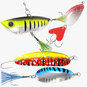 Fishing Lure Collection V5 3d model