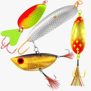 Fishing Lure Collection V6 3d model