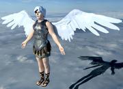 Anioł 3d model