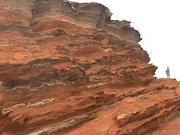Марокко Океан Красный Клифф 3d model