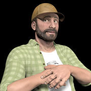 Country Man 3d model