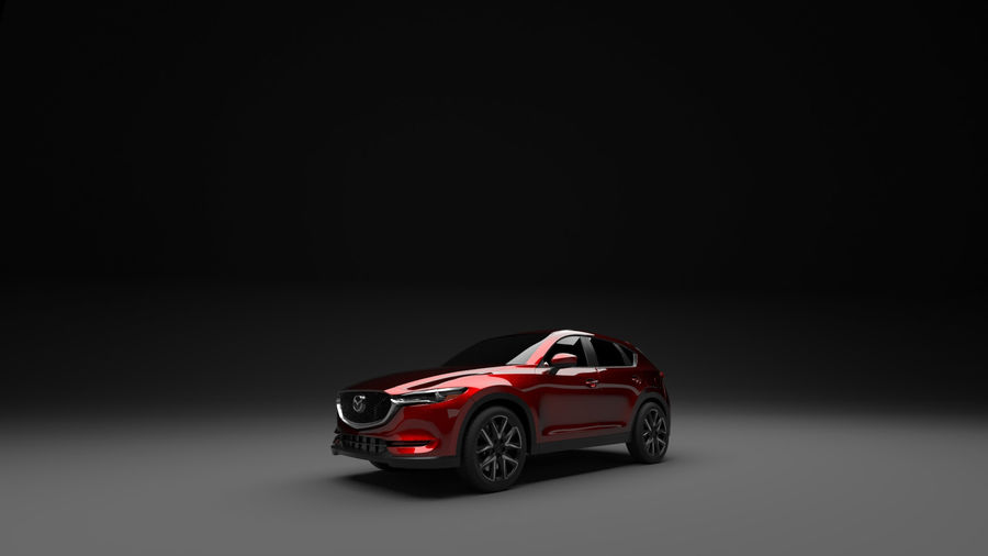 Mazda CX 5 royalty-free 3d model - Preview no. 5